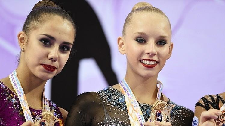 الروسيتان مامون وكودريافتسيفا تتوجان بذهبية بطولة العالم للجمباز الايقاعي