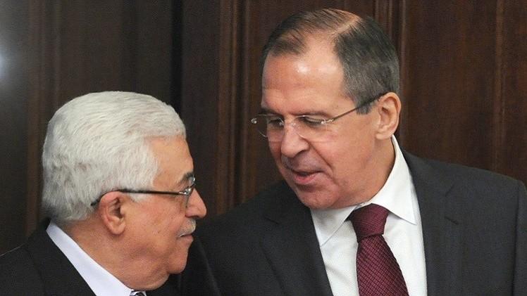 لافروف وعباس يؤكدان أهمية الالتزام بوقف إطلاق النار في غزة