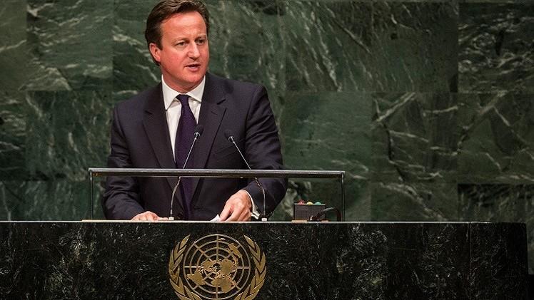 كاميرون يدعو البرلمان للمصادقة على إشراك سلاح الجو البريطاني في قصف