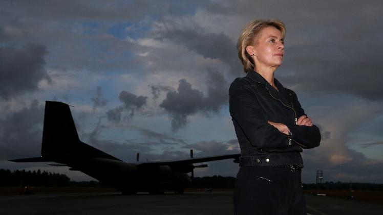 وزيرة الدفاع الألمانية تزور مراكز تدريب الأكراد في أربيل