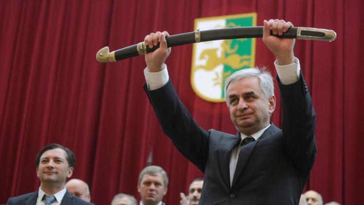 تنصيب راؤول خاجيمبا رئيسا لأبخازيا