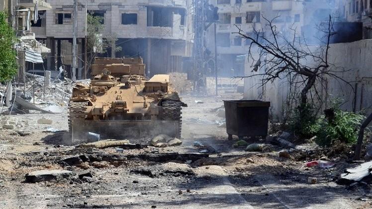 الجيش السوري يستعيد سيطرته على عدرا العمالية قرب دمشق