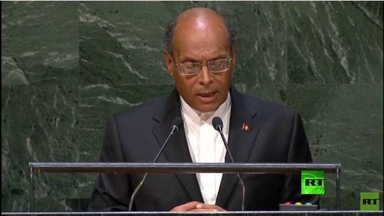 المرزوقي يدعو لتشكيل محكمة دستورية دولية مقرها تونس