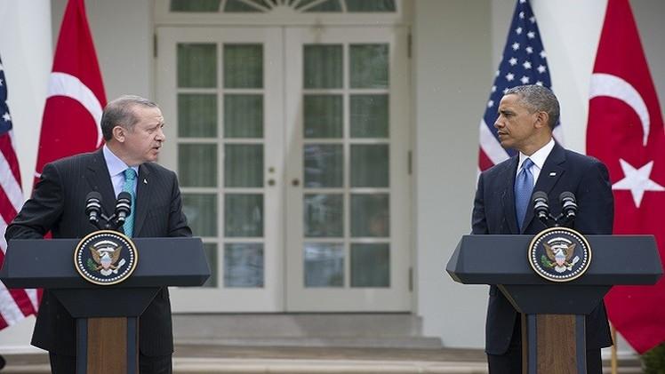 أوباما يبحث مع أردوغان والسيسي سبل محاربة