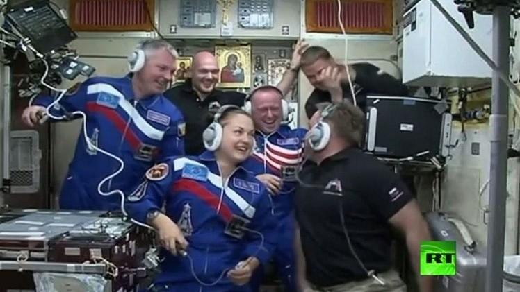 وصول الفريق الجديد إلى المحطة الفضائية الدولية على متن