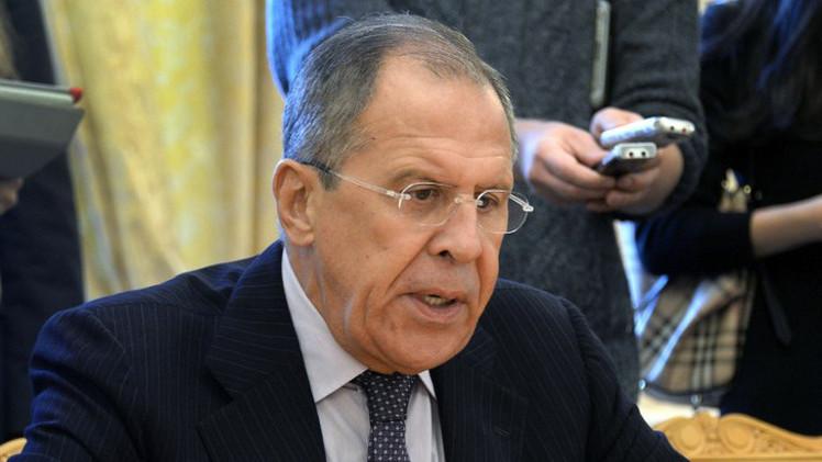 لافروف يبحث الأزمة السورية مع ممثلي