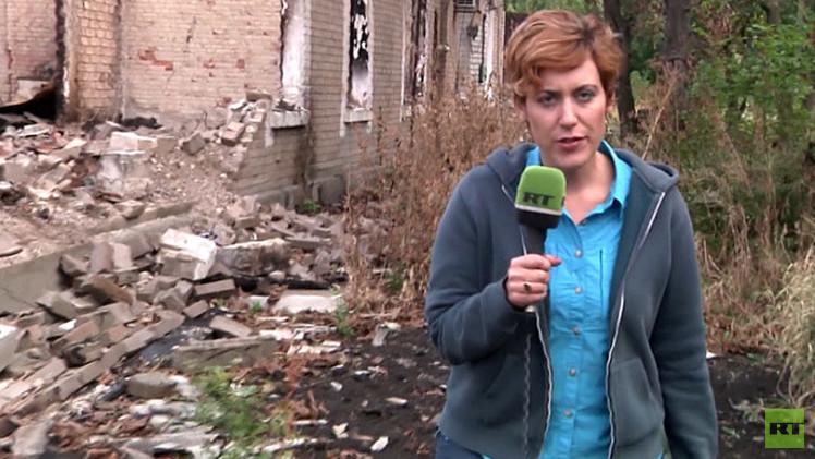 مراسلة RT تتلقى تهديدات بالقتل بعد عملها في أوكرانيا