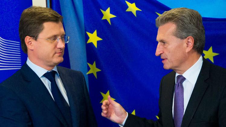 لقاء بين موسكو وكييف وبروكسل حول الغاز
