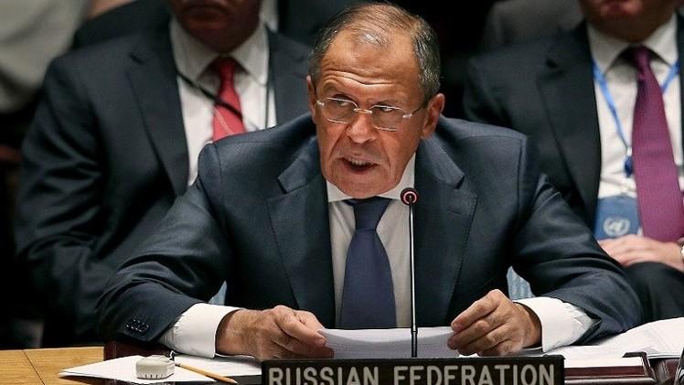 لافروف يؤكد للعبادي استعداد روسيا لمواصلة دعم العراق ضد الإرهاب