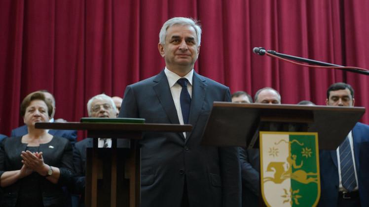 رئيس أبخازيا الجديد يقيل الحكومة