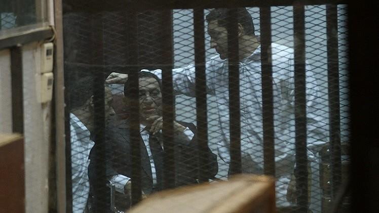 إرجاء النطق بالحكم على الرئيس المصري الأسبق حسني مبارك إلى 29 نوفمبر المقبل