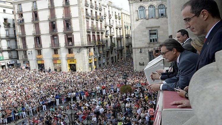كتالونيا تعلن الاستفتاء للاستقلال عن مدريد