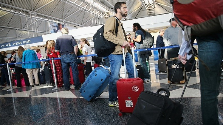 حريق يلغي أكثر من 1700 رحلة جوية في الولايات المتحدة