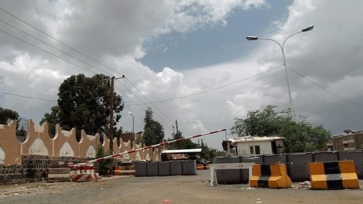 استهداف السفارة الأمريكية في صنعاء بصاروخ