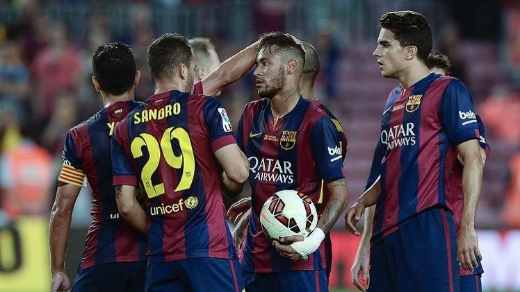 برشلونة يمطر شباك غرناطة بستة أهداف