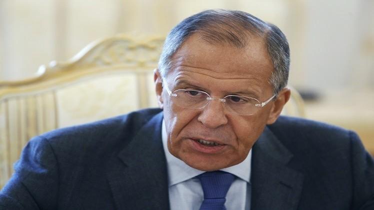 لافروف: روسيا لن تغير موقفها بشأن أوكرانيا