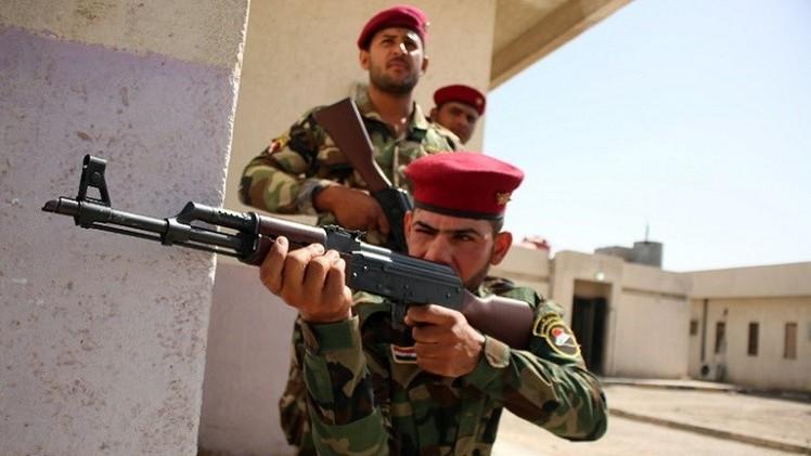 القوات العراقية تصد هجوما لمقاتلي