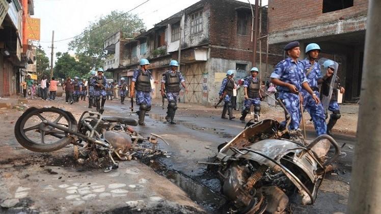 اعتقال 40 شخصا في الهند بعد اشتباكات بين الهندوس والمسلمين