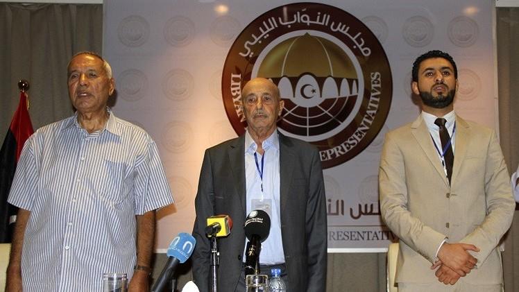 مجلس النواب الليبي يعقد مباحثات مع نواب مدينة مصراتة