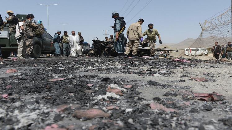 4 قتلى في هجوم انتحاري يتزامن مع تنصيب الرئيس الأفغاني الجديد