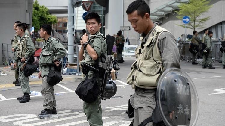 تراجع حدة التوتر في شوارع هونغ كونغ