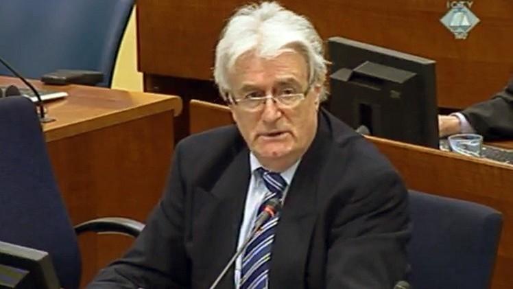 لاهاي: بدء المرافعات الختامية في محاكمة كارادجيتش