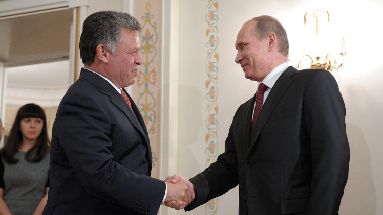 الكرملين: بوتين يستقبل العاهل الأردني عبدالله الثاني في موسكو 2 أكتوبر
