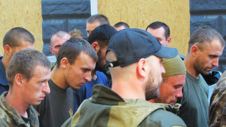 دونيتسك تشك بتسلمها مدنيين من كييف