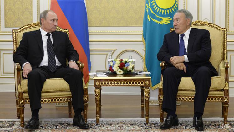 روسيا وكازاخستان تطلقان مشروع