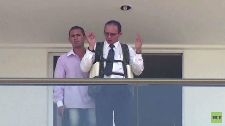 بالفيديو .. احتجاز رهينة بفندق في البرازيل