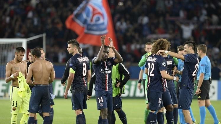 أنياب سان جيرمان تهشم شباك برشلونة في دوري أبطال أوروبا