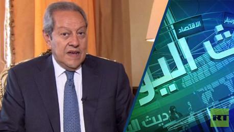 وزير الصناعة والتجارة المصري منير فخري عبد النور