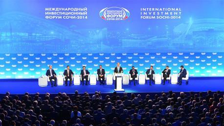 انطلاق منتدى سوتشي الاستثماري الدولي والعقوبات الغربية في صلب المناقشات