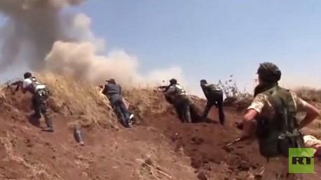 التحالف الدولي يوجه ضربات جوية للمسلحين في سورية