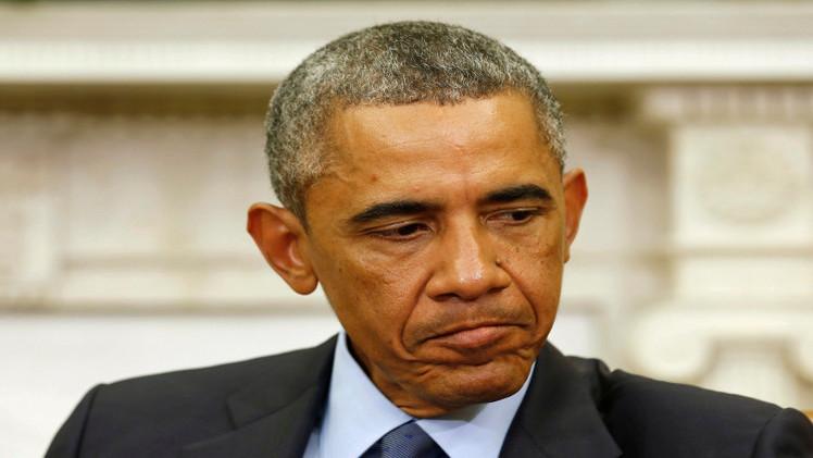 أوباما يناقش مع مستشاريه للأمن القومي استراتيجية مواجهة
