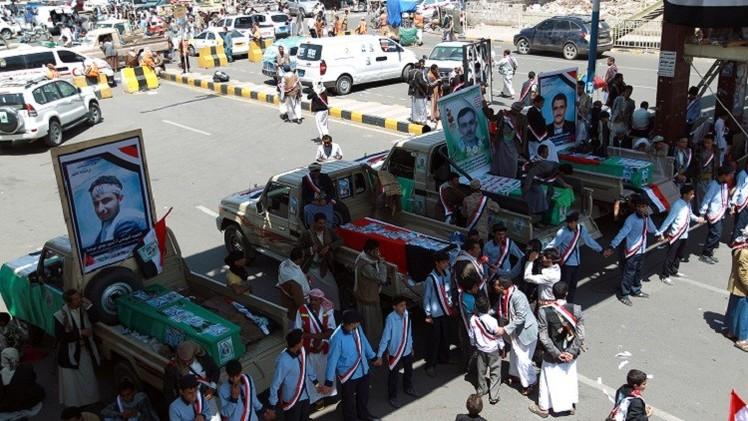 274 قتيلا و 470 جريحا حصيلة اشتباكات صنعاء خلال أسبوعين