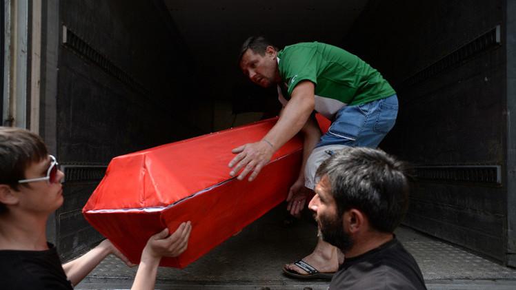 حقوقيون: أكثر من 400 جثة من مقابر جماعية في مشارح دونيتسك