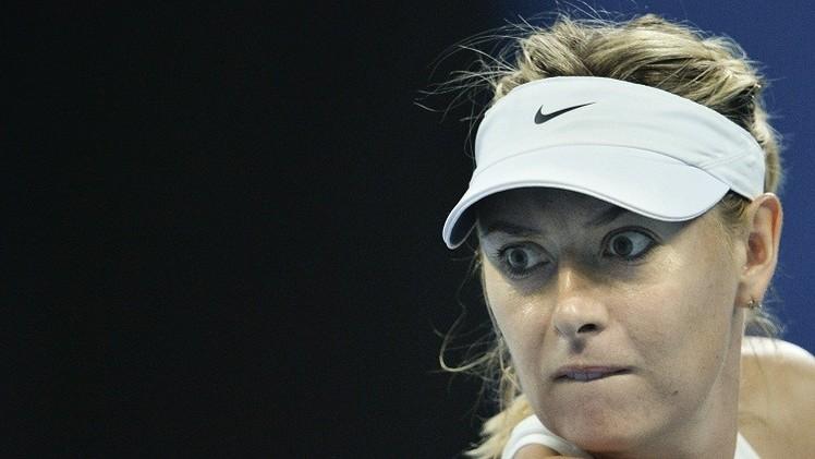 الروسية شارابوفا إلى ربع نهائي بطولة الصين المفتوحة للتنس
