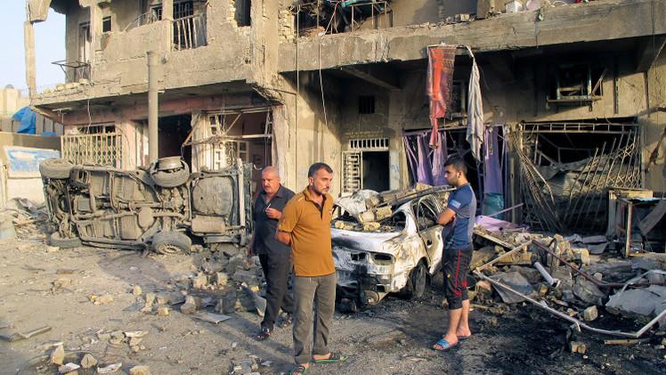 مقتل 17 شخصا وإصابة العشرات بتفجيرين في بغداد