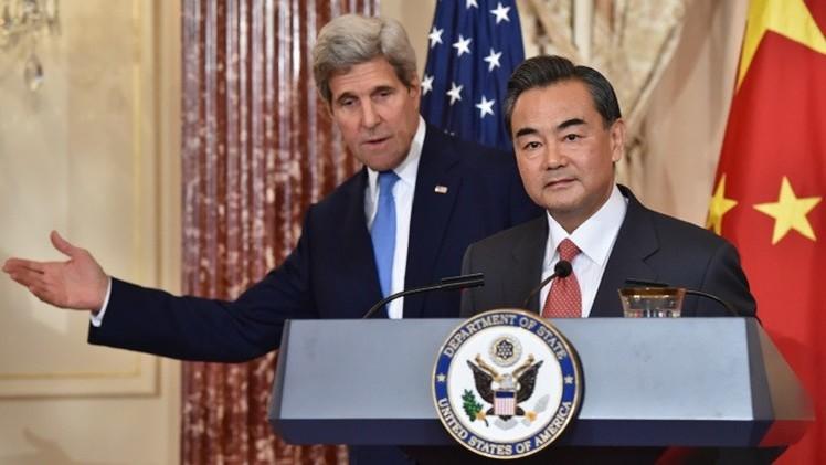 وزير الخارجية الصيني لكيري: أحداث هونغ كونغ شأننا الداخلي