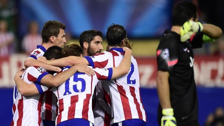 أتلتيكو مدريد يصحح طريقه في دوري الأبطال ويهزم يوفنتوس 1-0