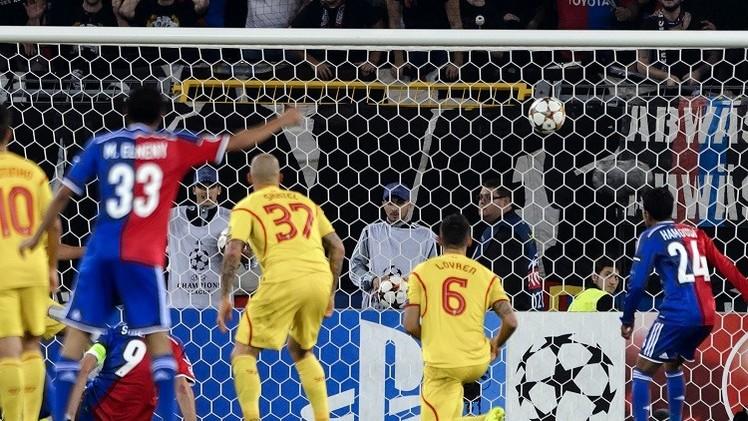 بازل يزيد معاناة ليفربول ويهزمه 1-0 في دوري الأبطال