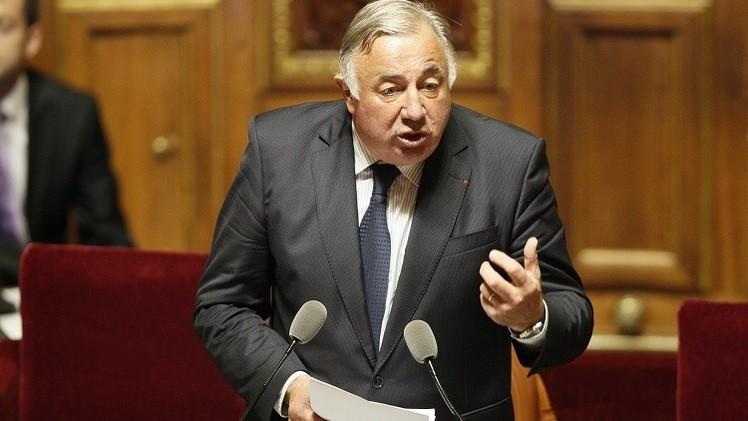 مرشح اليمين جيرار لارشيه رئيسا لمجلس الشيوخ الفرنسي