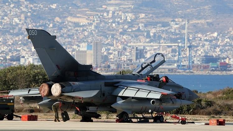 الطائرات البريطانية تنفذ رابع عملية قصف شمال العراق