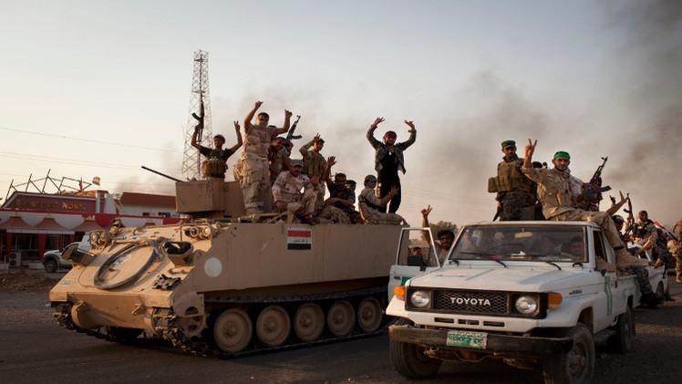 مقتل 17 جنديا عراقيا و40 مسلحا من تنظيم الدولة الإسلامية في الأنبار
