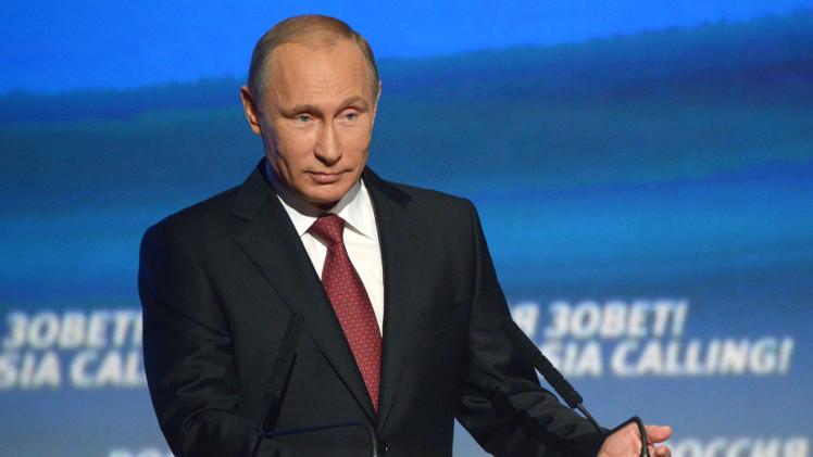 بوتين: لا يمكن الحفاظ على وحدة أوكرانيا إلا بضمان حقوق مواطنيها كافة