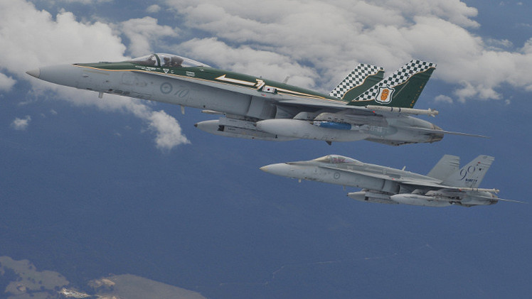 الطيران الأسترالي ينضم إلى محاربة