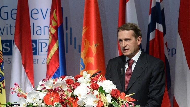 رئيس الدوما الروسي: كييف تستخدم الجيش لمحاربة مخالفيها في الرأي