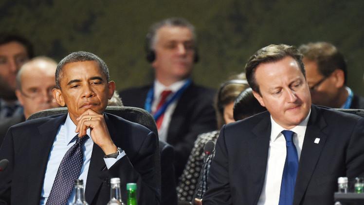 كاميرون وأوباما يتوعدان بملاحقة قتلة البريطاني