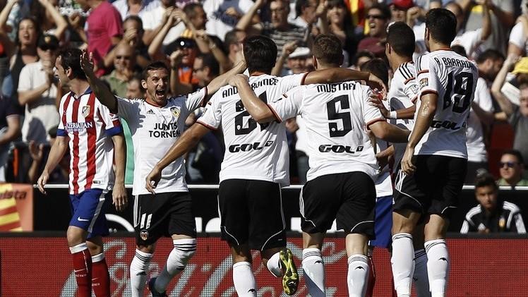 فالنسيا ينهي سنوات الجفاف بفوز تاريخي على أتلتيكو مدريد